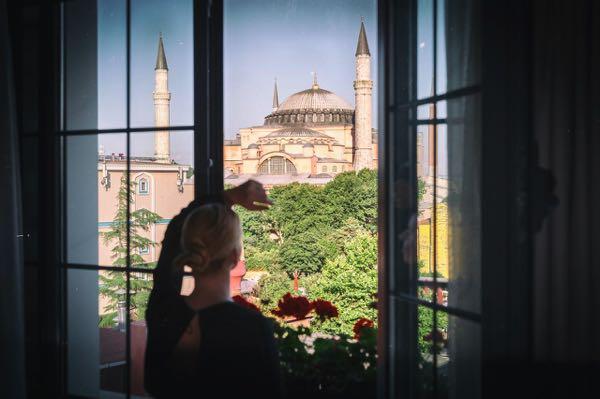 Views from Sura Hagia Sophia Hotel