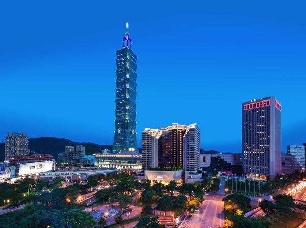 Výhled zGrand Hyatt Taipei