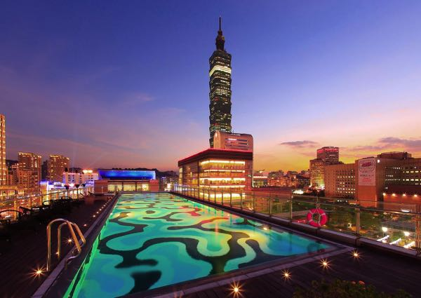 Výhled zHumble House Taipei