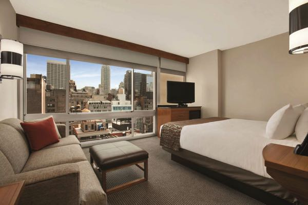 Výhled zHyatt Place New York/Midtown-South