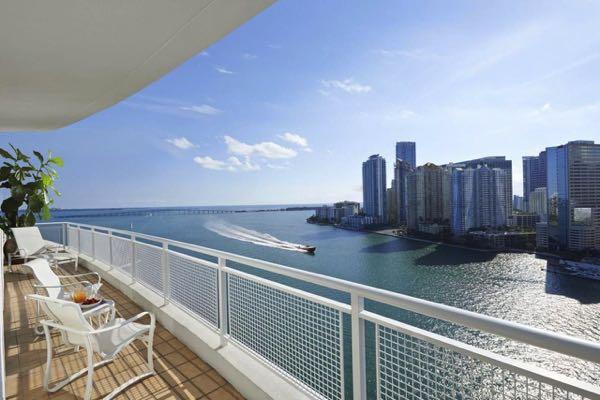 Výhled zMandarin Oriental, Miami