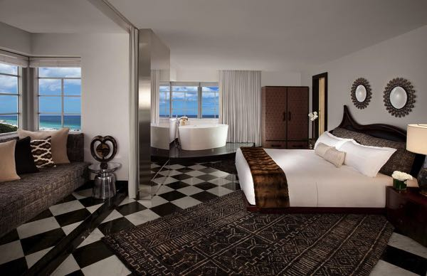Výhled zSLS Hotel South Beach