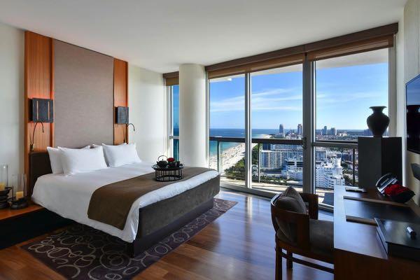 Výhled zThe Setai, Miami Beach